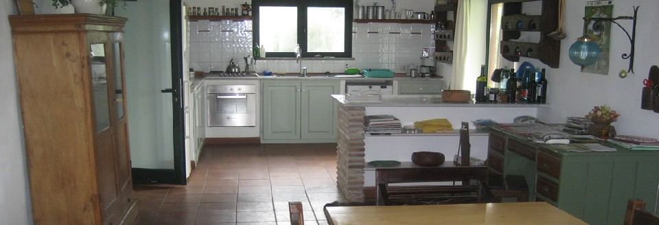 A kitchenarea of 50 m2 with all comfort needed.